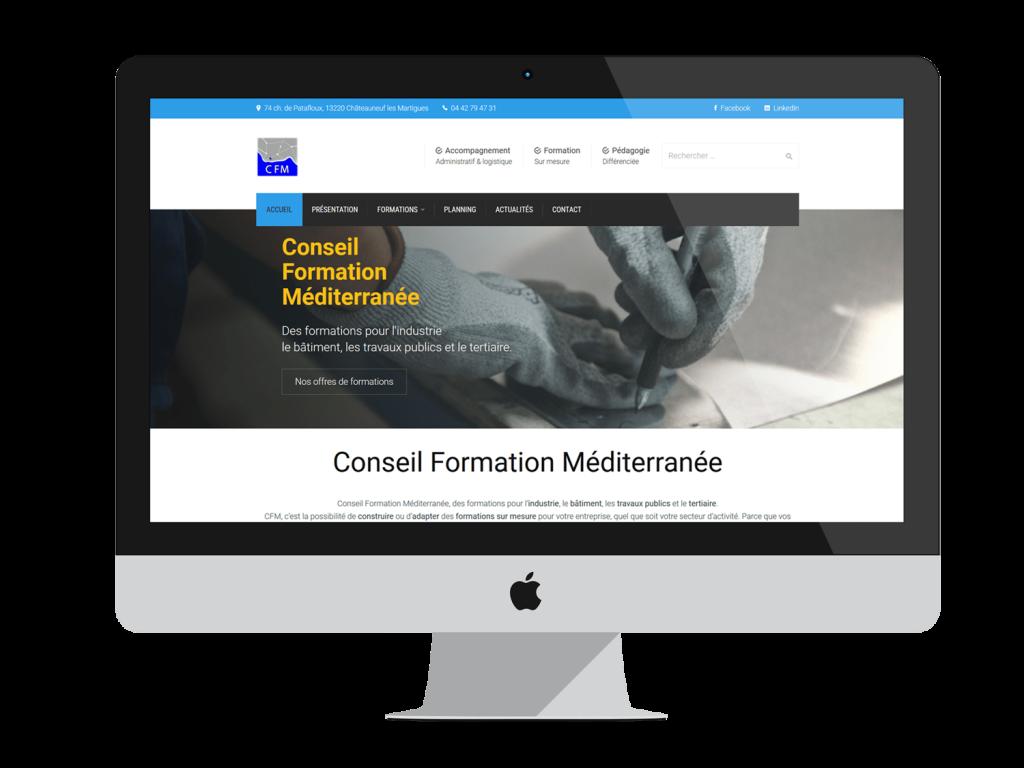 Création du site web CFM