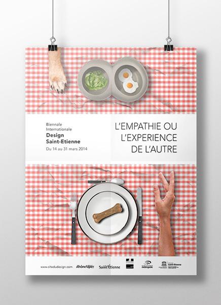 Affiche Biennale design Saint Etienne