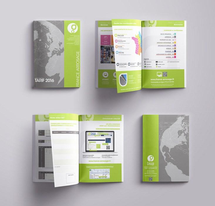 Charte graphique catalogue produits