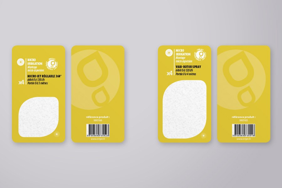 Packaging blister France Arrosage