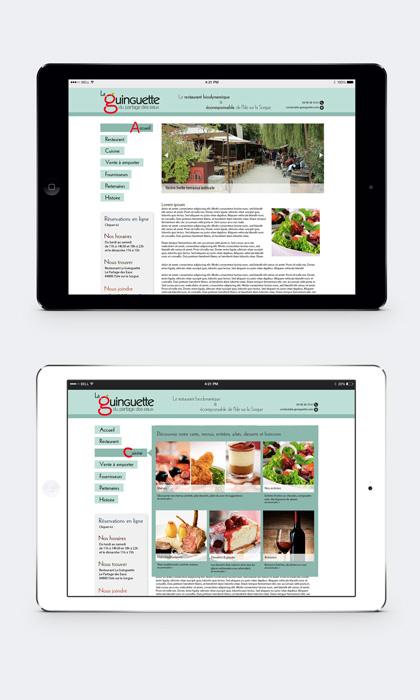 Webdesign la Guinguette