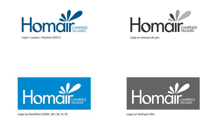 Charte graphique Homair