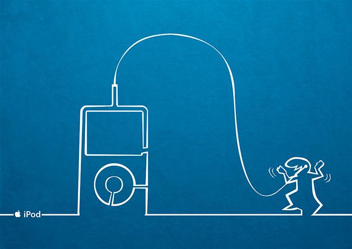 Affiche Ipod La linéa