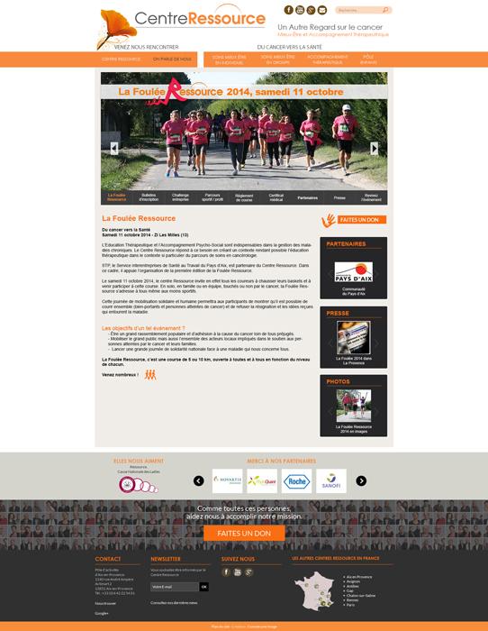 Web design mini site web