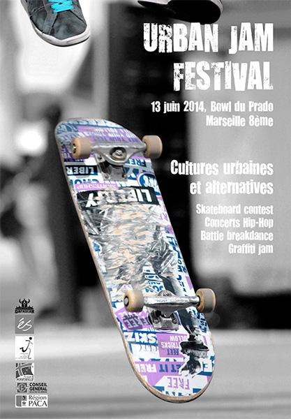 Affiche Urban Jam Festival